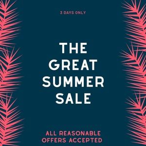 Other - The Great End of Summer Sale